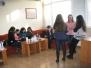 """Обучения със студентски клуб """"Европа"""", 2015 г."""