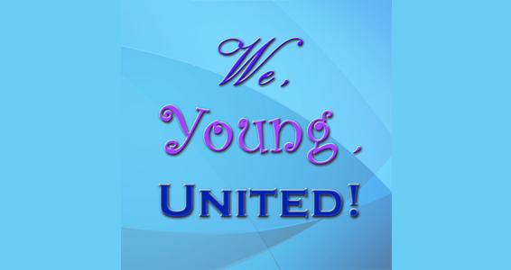 we, young, united banner
